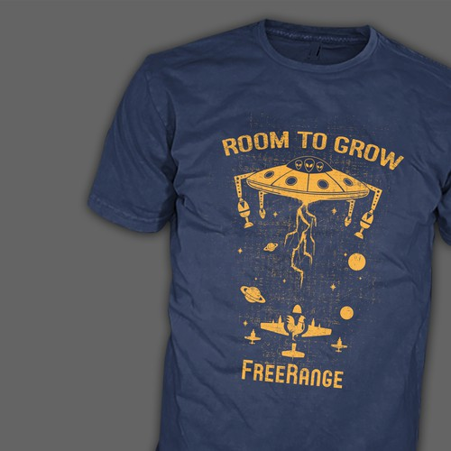 Design a Fun Visually Captivating and Creative T-shirt design for an awesome company!! Design by RetroGenetics