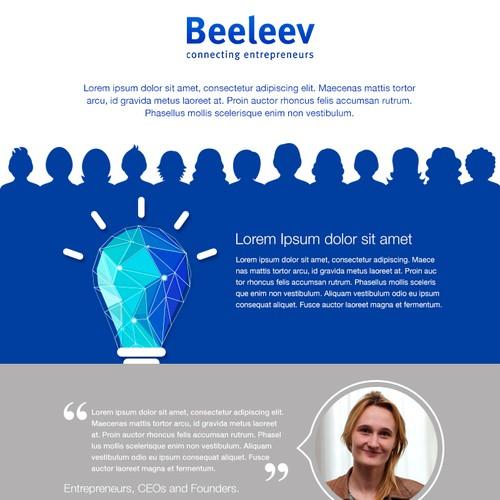 Ontwerp van finalist AnaVDesign