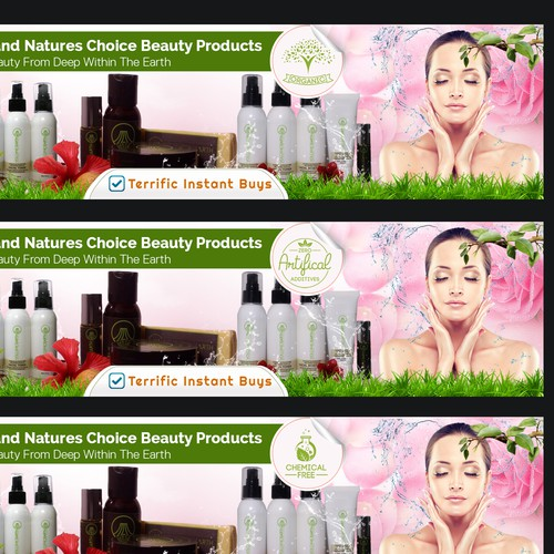 Terrific Instant Buys Needs A Creative Skin Care Banner Banner Ad Contest 99designs