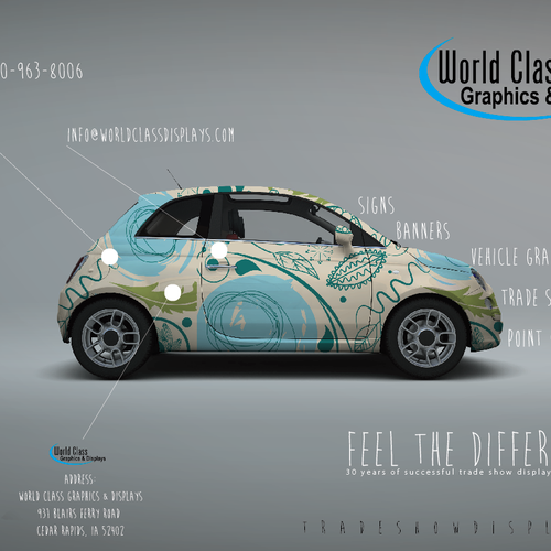 Diseño finalista de Creamente