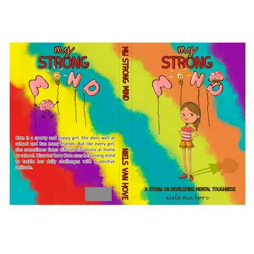 Create a fun and stunning children's book on mental toughness Design by Victoriya_Wily