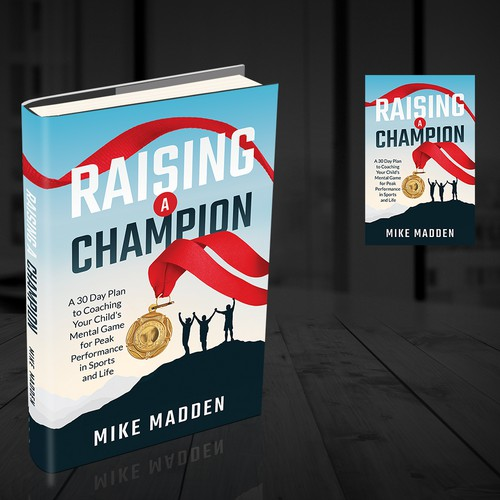 Beautiful design with the title 'Raising a Champion'
