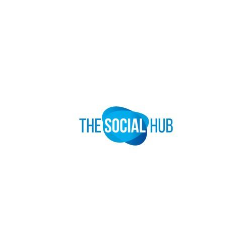 Hub logo with the title 'TH Social Hub'