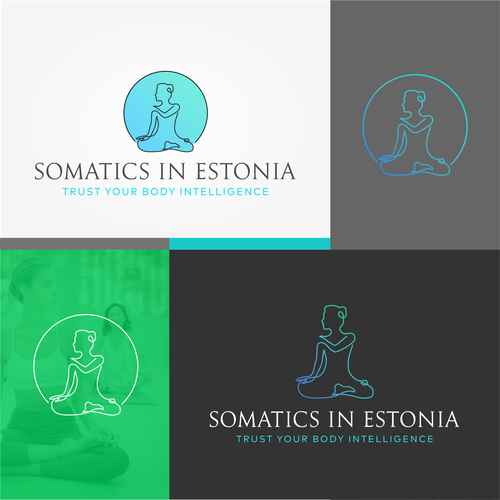 Comfortable design with the title 'Somatics in Estonia'