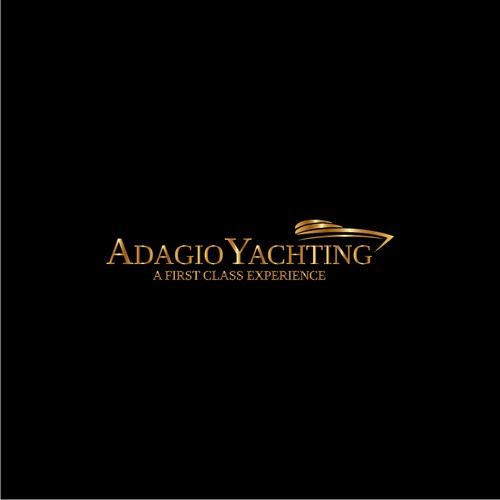 Marina logo with the title 'Adagio Yachting Logo'
