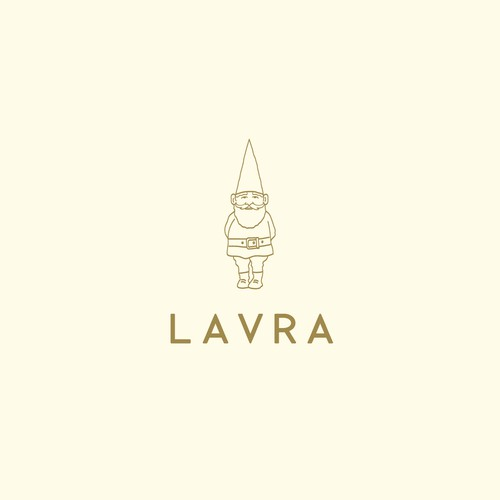 Fun brand with the title 'A kitsch and fun logo for fashion brand LAVRA'