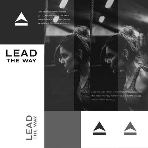 Up design with the title 'LEAD THE WAY'