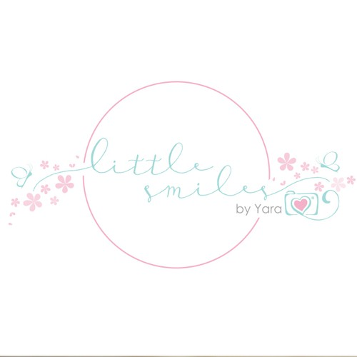 Cute design with the title 'whimsical design for a photographer'