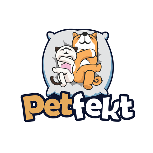 Perfect design with the title 'Logo for Pet Bed Company'