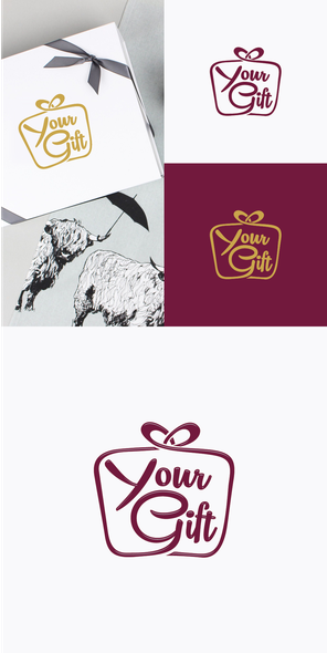 Conceptual brand with the title 'Your Gift'