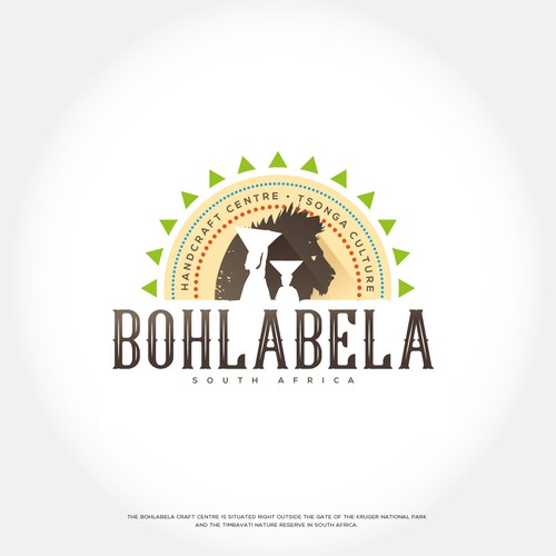 Handcraft logo with the title 'Bohlabela'