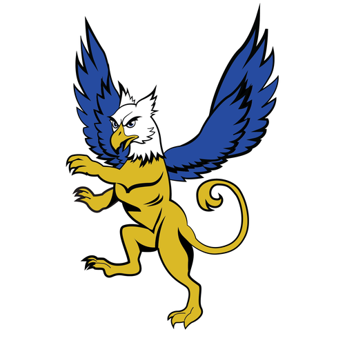 Griffin logo with the title 'Griffin Logo for High School'