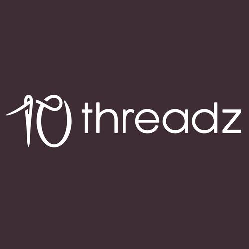 Needle logo with the title '10 Threadz'