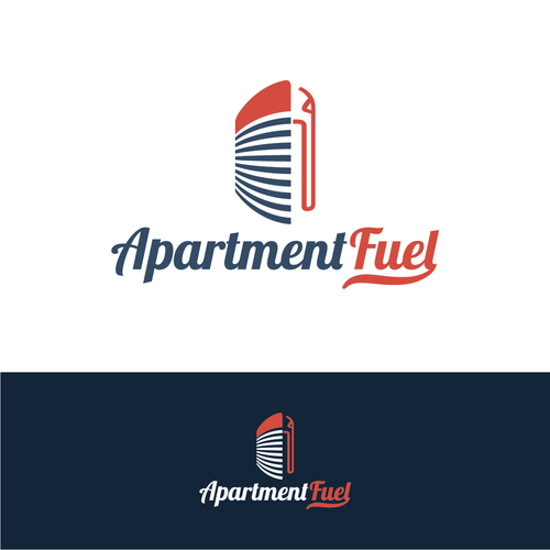 Rental logo with the title 'Clever logo for a apartment marketing agency '
