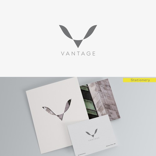 Stationery logo with the title 'Logo for Achitecture Firm '