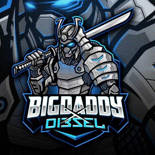 Esports logo with the title 'BigDaddyxDi3sel'