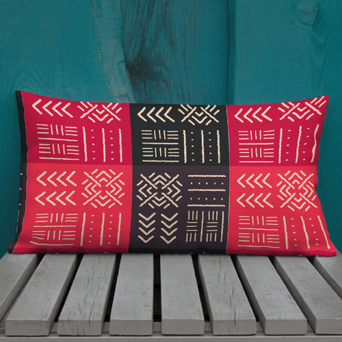 Home furnishing design with the title 'african soulful pattern       '