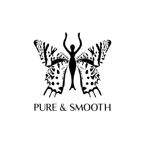 Holistic brand with the title 'Pure & Smooth logo concept'