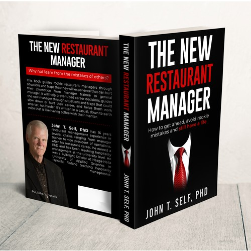 Management book cover with the title 'The New Restaurant Manager'