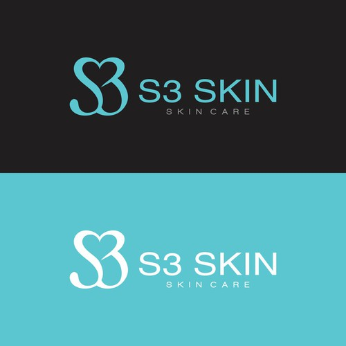 Beauty care logo with the title 'S3 Skin '