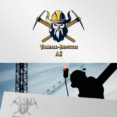 Viking brand with the title 'Valhall-Industri AS'