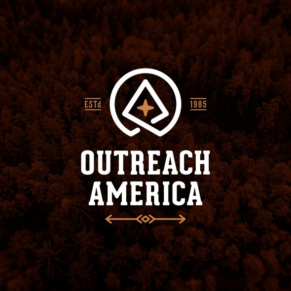 Wilderness design with the title 'Outreach America'