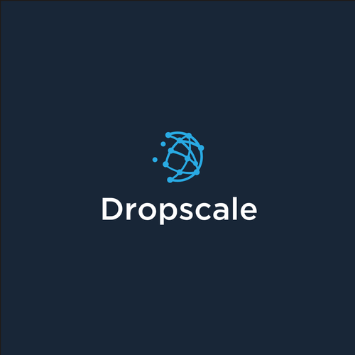 Scale logo with the title 'Dropscale'