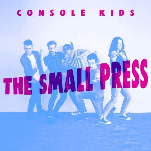 Band illustration with the title 'The Small Press'