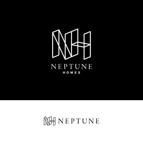 Home design with the title 'Neptune Homes'