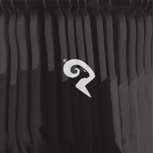 Ram design with the title 'Bold logo concept for RamShirt'