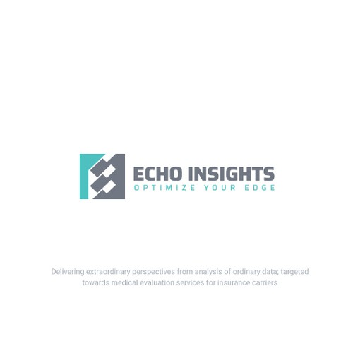 Data brand with the title 'Creative Logo for Insurance Company'