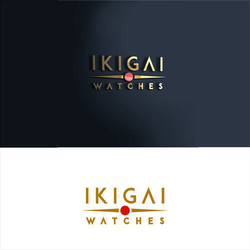 Watch logo with the title 'simplicity of logo disign for japanese watch shop'