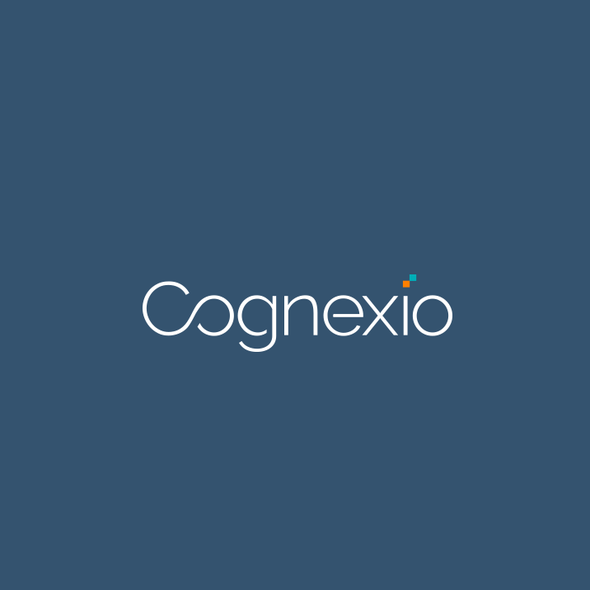 Pixel design with the title 'Brand Identity Design For Cognexio'