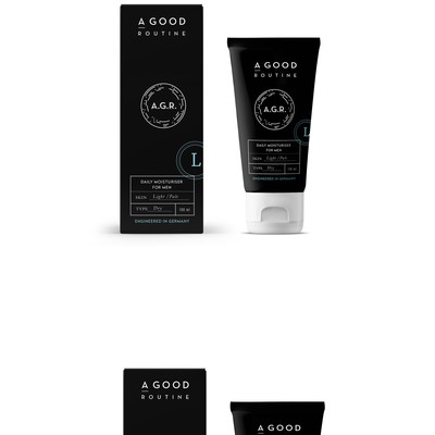 Men Skin Care packaging design
