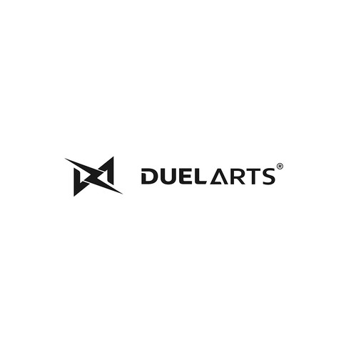 Lightning design with the title 'DUEL ARTS '