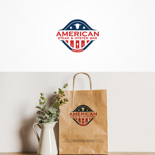 American brand with the title 'American Steak & Oyster Bar'