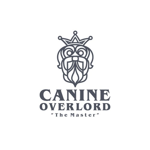 Canine logo with the title 'Canine Overlord'