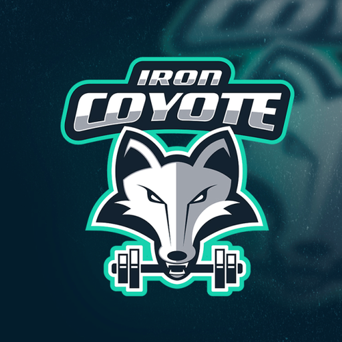 Iron logo with the title 'Iron Coyote'