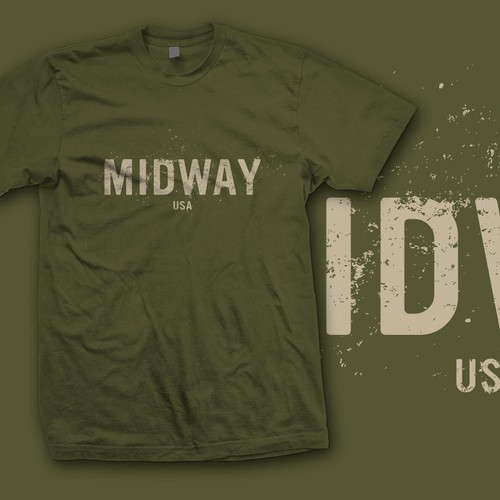 Hunting t-shirt with the title 'Midway USA'