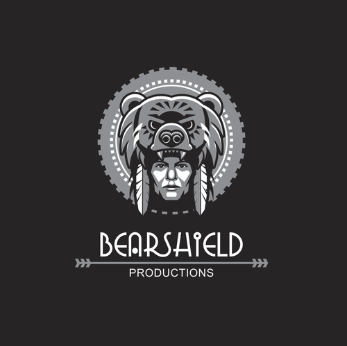 Cultural logo with the title 'Bearshield'