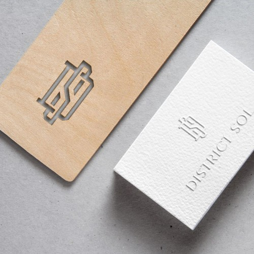 Memorable brand with the title 'Distric Sol'