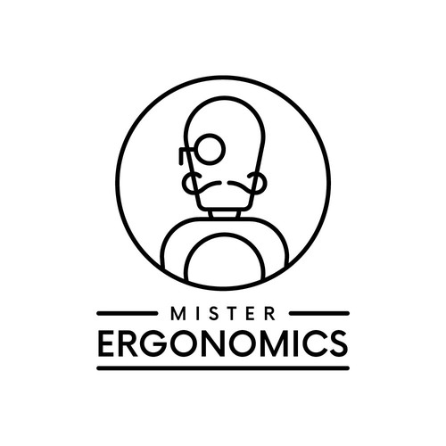 Monocle design with the title 'Mr Ergonomics'