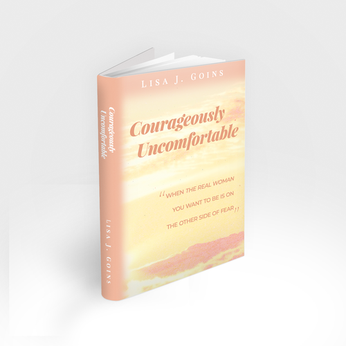 Church book cover with the title 'Courageously Uncomfortable'