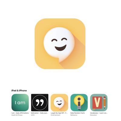App icon for jokes app