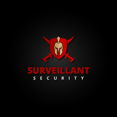 "Privacy logo with the title 'Bold logo for ""SURVEILLANT SECURITY"".'"