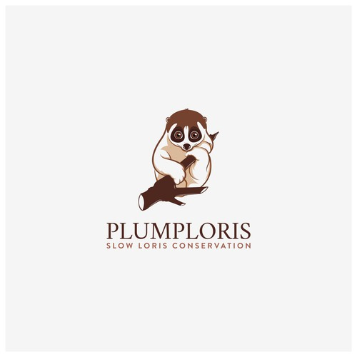 Conservation logo with the title 'Plumploris'