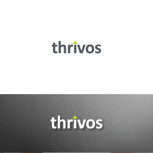 Fintech logo with the title 'Thrivos'