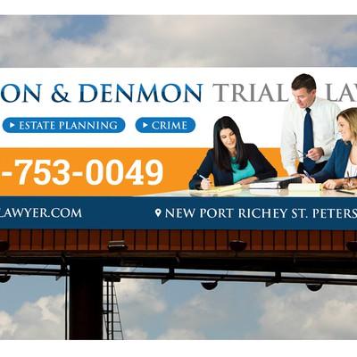 Billboard Design for Denmon & De