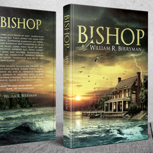 Storm design with the title 'Bishop'