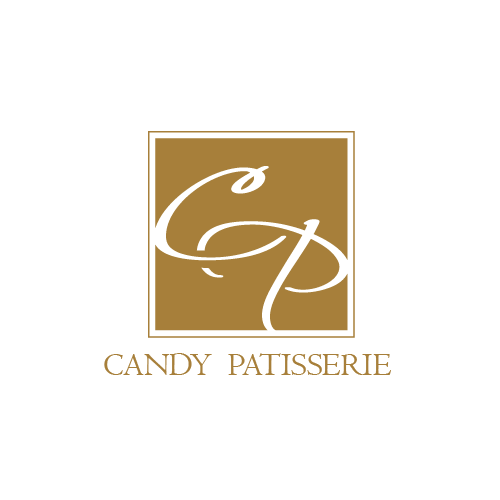 Letter design with the title 'Candy Pastisserie Logo'